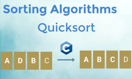 Quicksort implementation in C