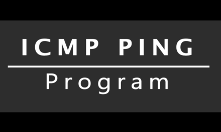 ICMP Ping Program in C