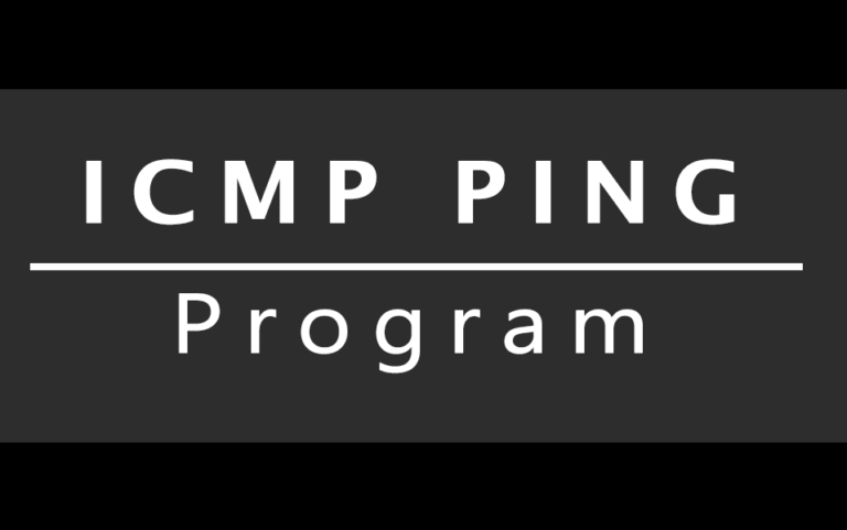 C Program to illustrate how to write ICMP Ping program