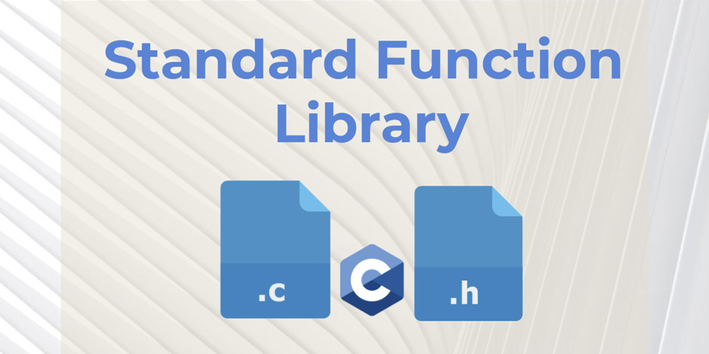 Standard Function Library – ANSI C