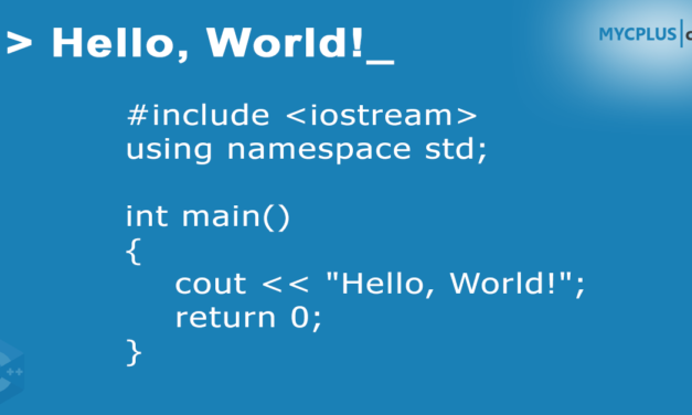"C++ ""Hello World"" Program"