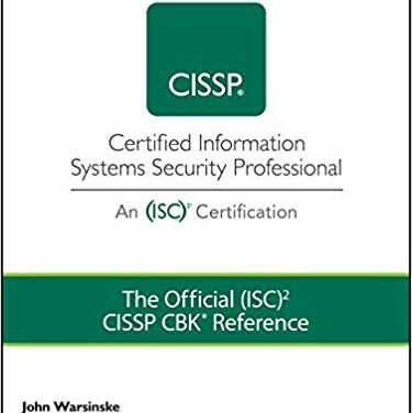 The Official (ISC)2 Guide to the CISSP CBK Reference 5th Edition