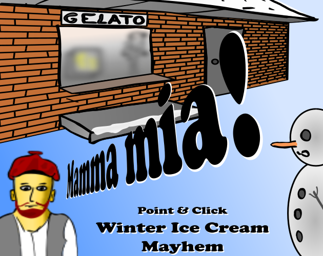 Image result for Mamma mia! Winter Ice Cream Mayhem game