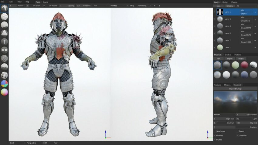 Armory 3D - Game Characters