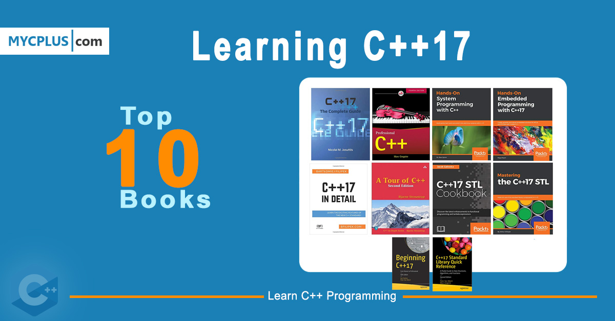 Top 10 Books For Learning C++17
