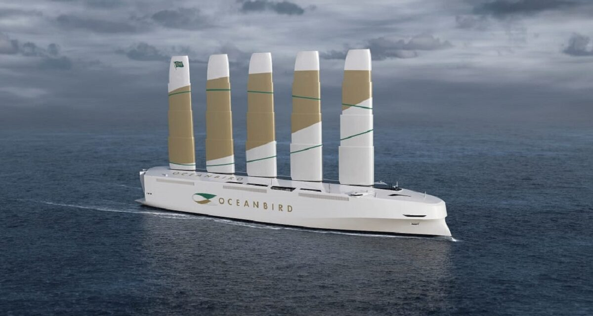 World's Largest Wind-Powered Vessel