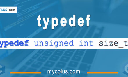 The Typedef and using Keywords in C and C++