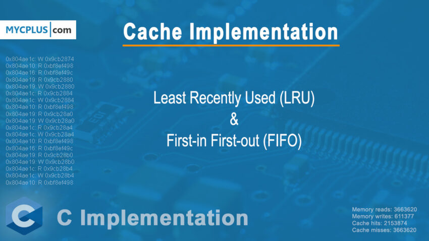 L1 Cache Implementation in C