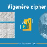 Vigenere Encryption and Decryption in C++