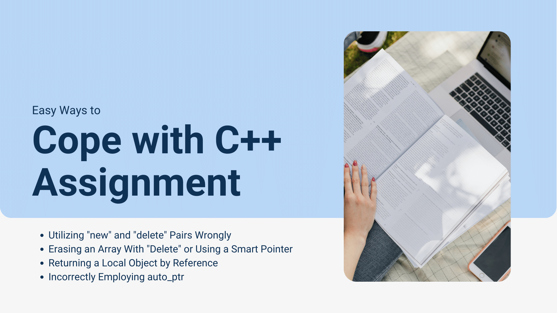 Cope with C/C++ Assignment